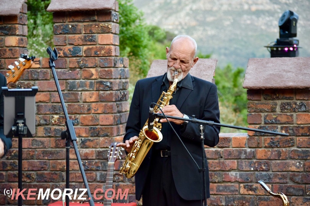 Ike Moriz Top wedding singer swing quartet Lichtenstein castle Hout Bay entertainment jazz pop blues dragon fantasy Russian live band Cape Town South Africa Mosquito records saxophonist Willie van Zyl