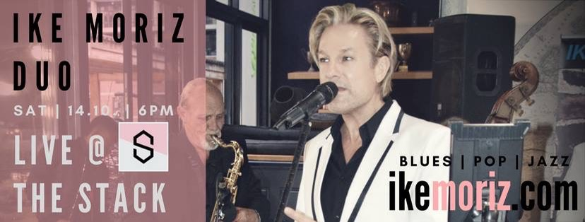 Iker Moriz at The Stack Gardens Cape Town Willie van Zyl swing jazz latin pop duo band entertainment wedding music top singer cape town
